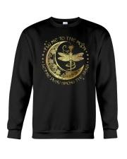 Fly Me To The Moon Let Me Play Among The Stars Crewneck Sweatshirt thumbnail