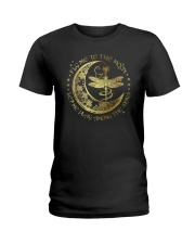 Fly Me To The Moon Let Me Play Among The Stars Ladies T-Shirt thumbnail