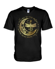 Fly Me To The Moon Let Me Play Among The Stars V-Neck T-Shirt thumbnail