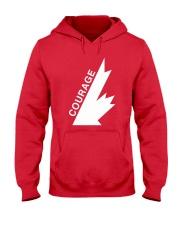 COURAGE  Hooded Sweatshirt thumbnail