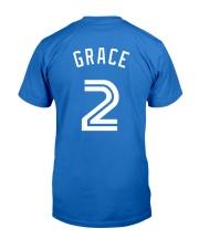 Grace 2 Baseball Shirt Premium Fit Mens Tee back
