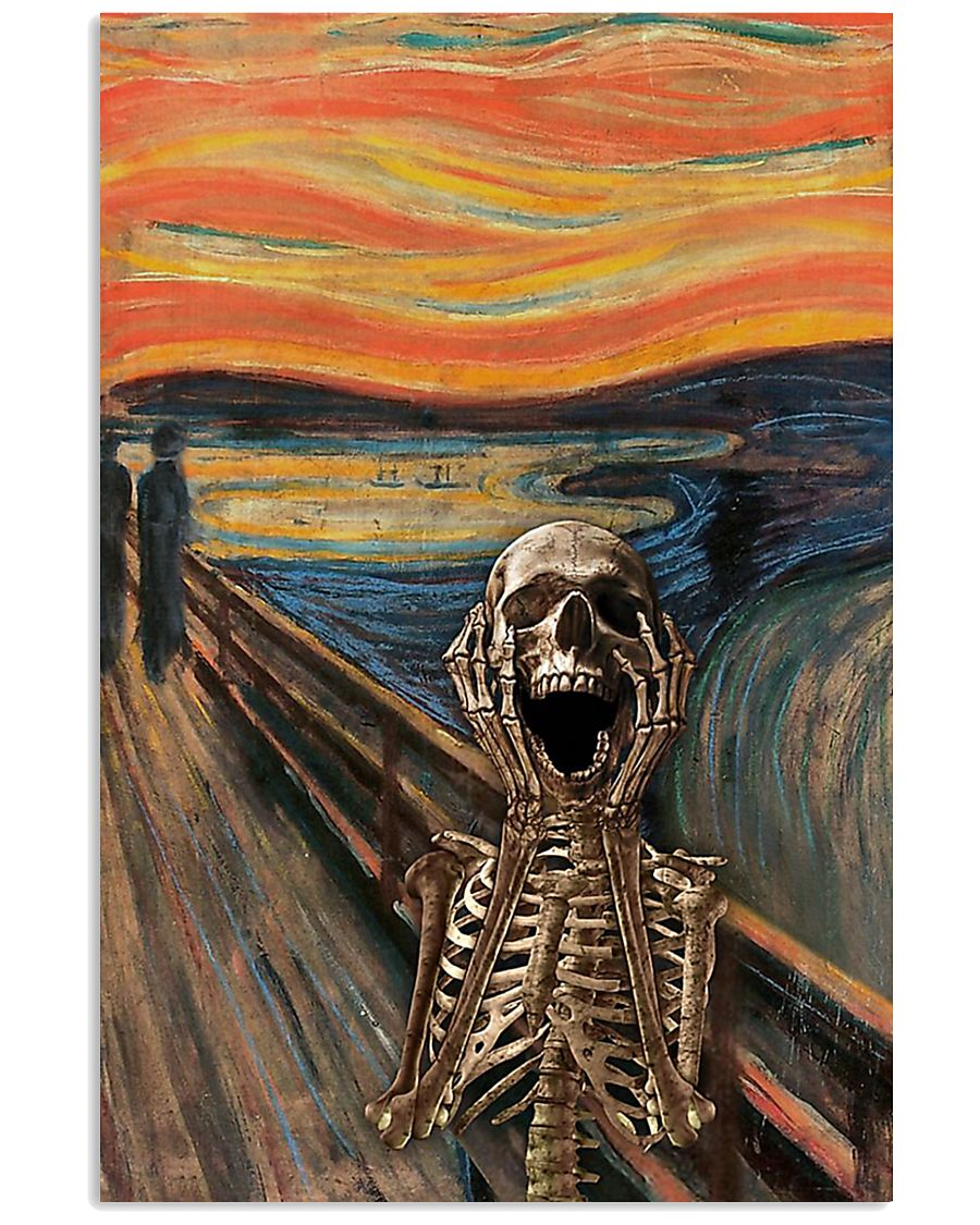 The Scream Skeleton 11x17 Poster