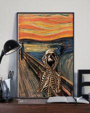 The Scream Skeleton 11x17 Poster lifestyle-poster-2