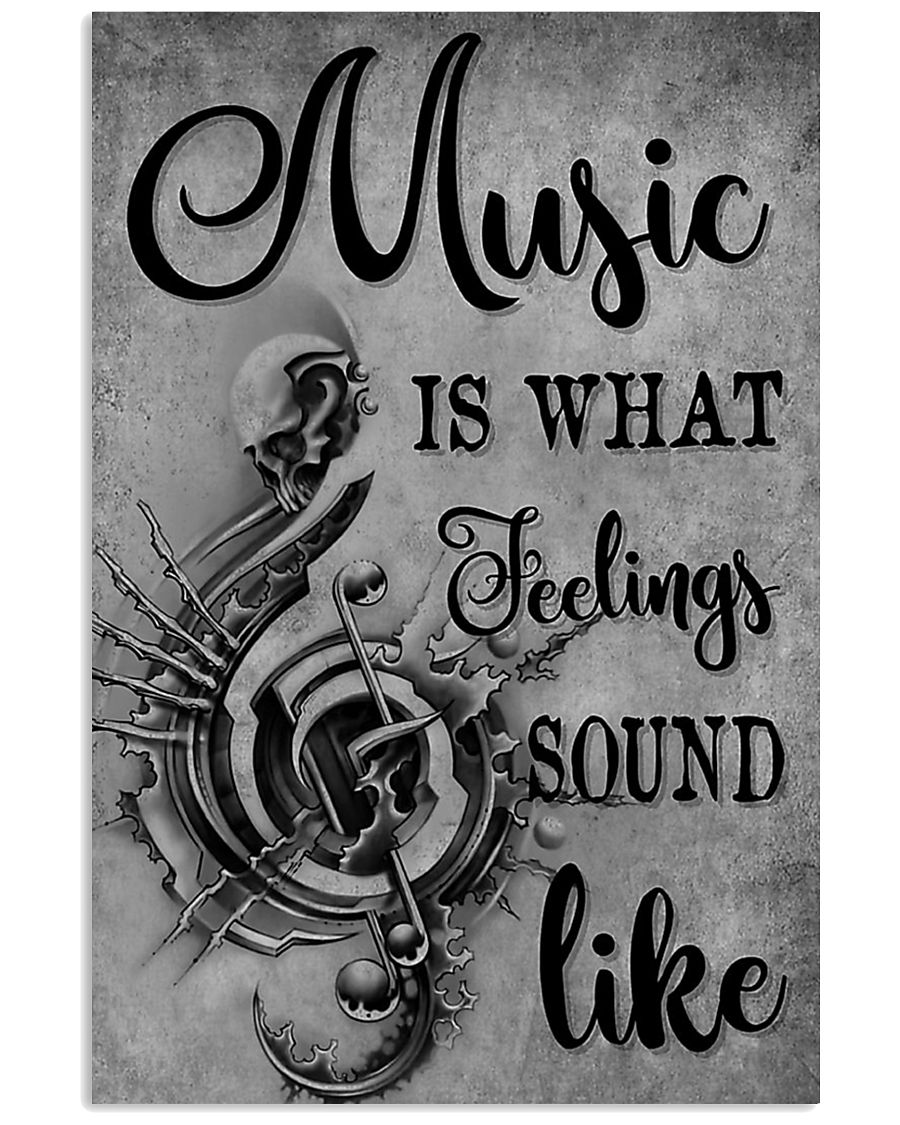 Music Is What Feeling 11x17 Poster