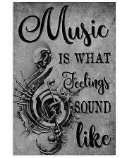 Music Is What Feeling 11x17 Poster front