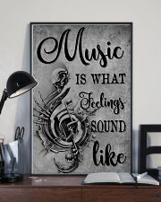 Music Is What Feeling 11x17 Poster lifestyle-poster-2