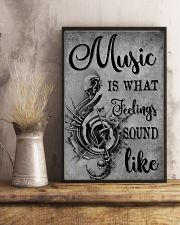Music Is What Feeling 11x17 Poster lifestyle-poster-3