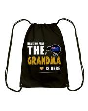 HAVE NO FEAR Drawstring Bag thumbnail