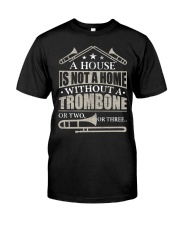 A House Without A Trombone Premium Fit Mens Tee thumbnail