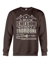 A House Without A Trombone Crewneck Sweatshirt thumbnail