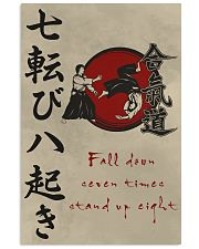 Fall down seven times stand up eight 11x17 Poster front
