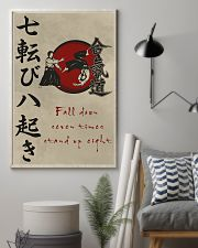 Fall down seven times stand up eight 11x17 Poster lifestyle-poster-1
