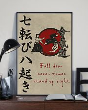Fall down seven times stand up eight 11x17 Poster lifestyle-poster-2