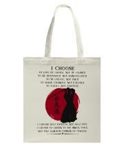 I Choose Tote Bag thumbnail