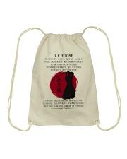 I Choose Drawstring Bag thumbnail