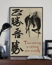 True victory is victory over oneself 11x17 Poster lifestyle-poster-2