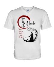 Your spirit is the true shield V-Neck T-Shirt thumbnail