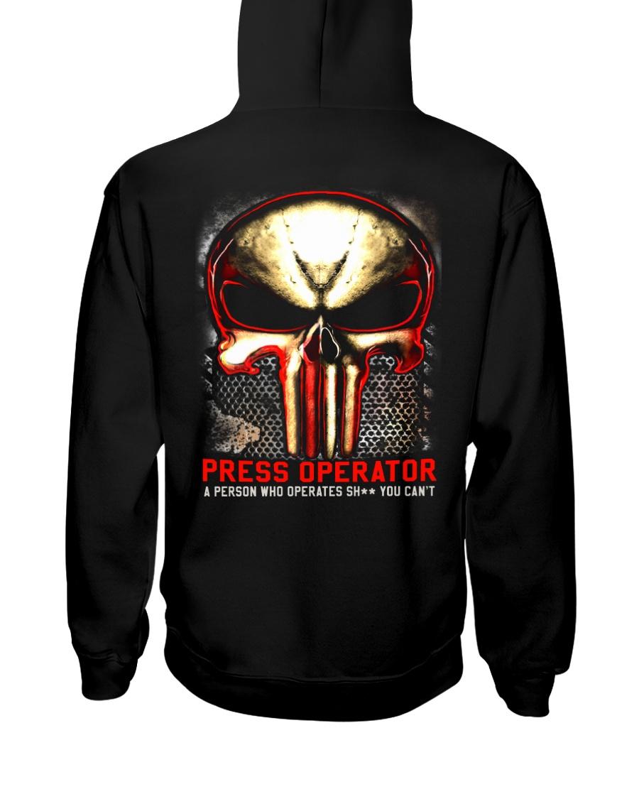 Press-operates Hooded Sweatshirt