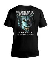 Dentist-evilside V-Neck T-Shirt thumbnail