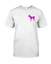Goats purple Classic T-Shirt front