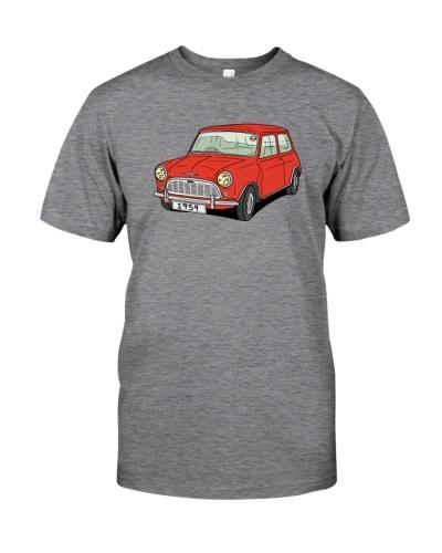 Classic Car - Six Decades red