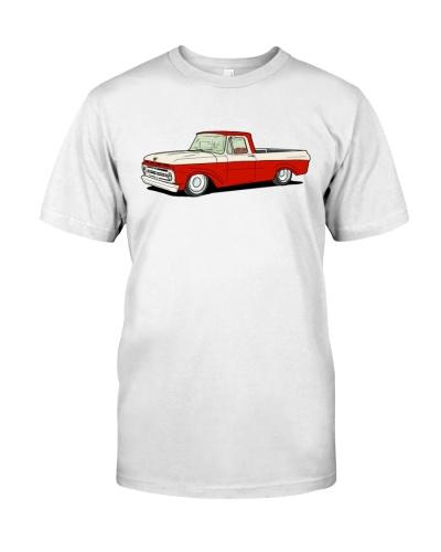 Classic Trucks - Unibody red