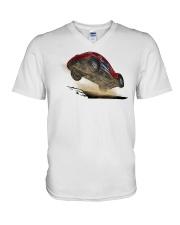 Off Roading - Felixfly V-Neck T-Shirt thumbnail