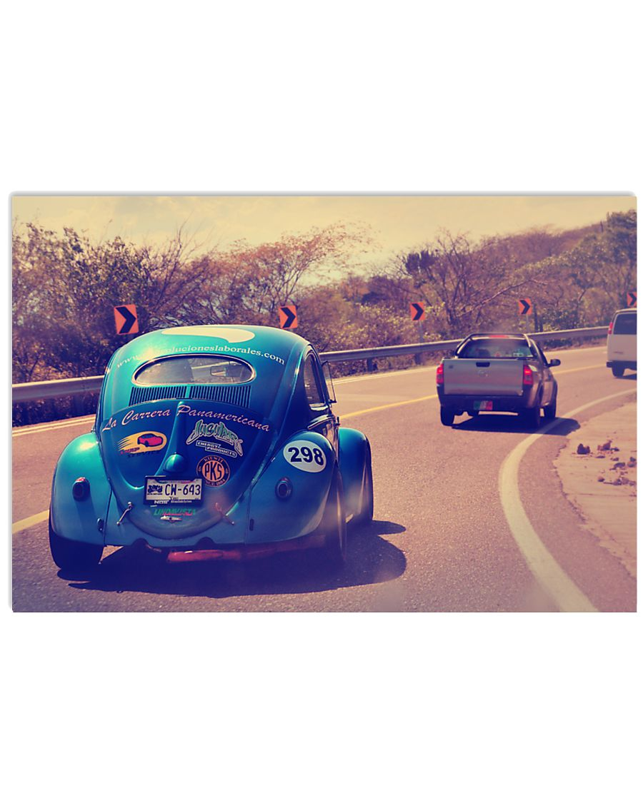 La Mexican Race - 2009 Road Bug 17x11 Poster