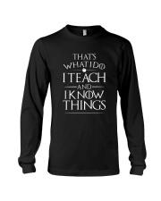 Limited Edition Teacher  Long Sleeve Tee thumbnail