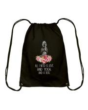 Yoga Tshirt Drawstring Bag thumbnail