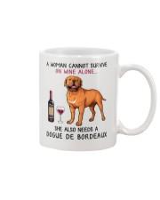 Wine and Dogue De Bordeaux 2 Mug thumbnail