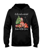 The Most Wonderful Xmas American Pit Bull Terrier Hooded Sweatshirt thumbnail