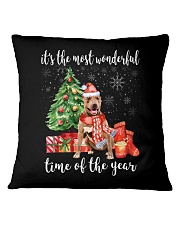 The Most Wonderful Xmas American Pit Bull Terrier Square Pillowcase thumbnail