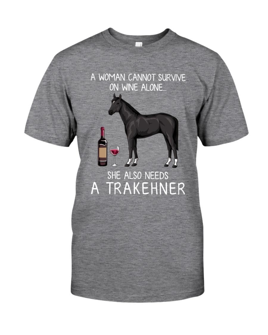 Wine and Trakehner Classic T-Shirt