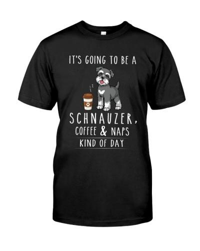 Schnauzer Coffee and Naps