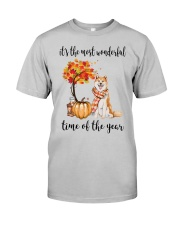 The Most Wonderful Time - Akita Classic T-Shirt front