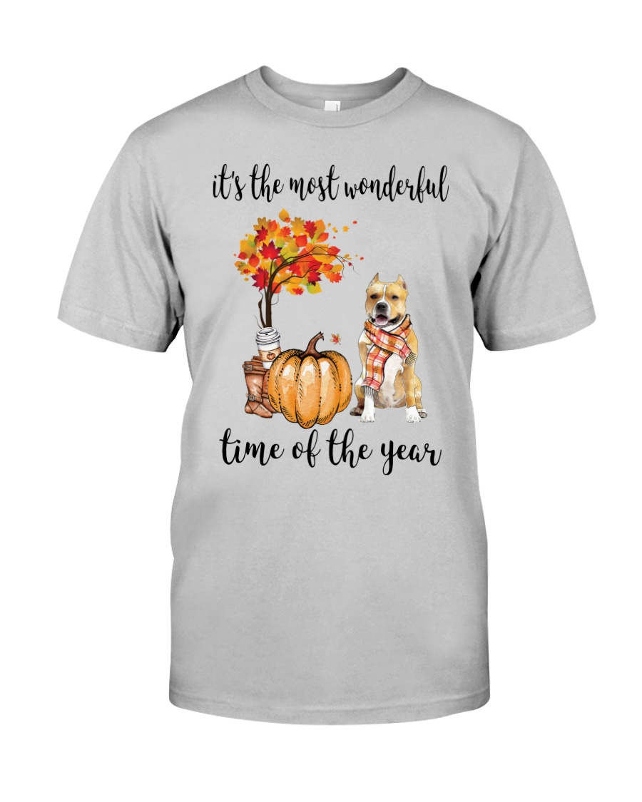 The Most Wonderful Time - Amstaff Classic T-Shirt