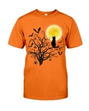 Halloween Cat Tree Classic T-Shirt front