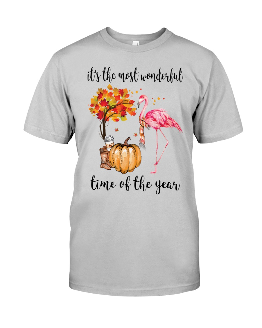 The Most Wonderful Time - Flamingo Classic T-Shirt