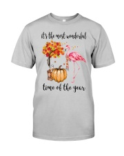 The Most Wonderful Time - Flamingo Classic T-Shirt front