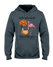 The Most Wonderful Time - Flamingo Hooded Sweatshirt thumbnail