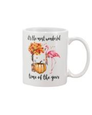The Most Wonderful Time - Flamingo Mug thumbnail