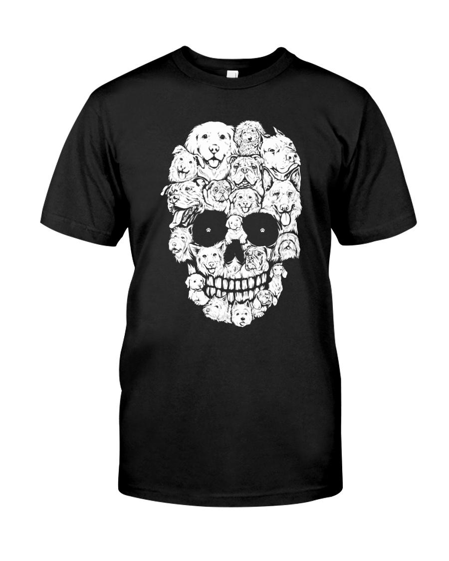 Skull Dogs Classic T-Shirt