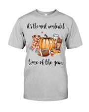 The Most Wonderful Time - American Football 2 Classic T-Shirt front