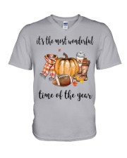 The Most Wonderful Time - American Football 2 V-Neck T-Shirt thumbnail