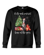 The Most Wonderful Xmas - Greyhound Crewneck Sweatshirt thumbnail