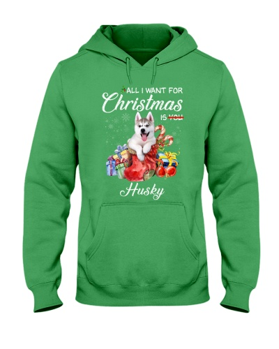 All I Want For Christmas Is Husky