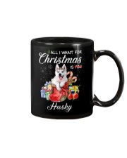 All I Want For Christmas Is Husky Mug thumbnail
