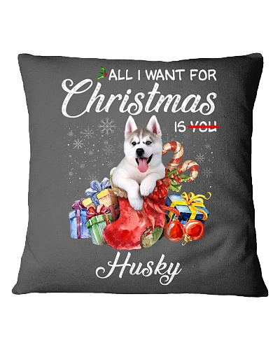 All I Want For Christmas Is Husky