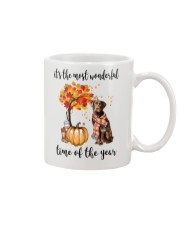 The Most Wonderful Time - Chocolate Labrador Mug thumbnail